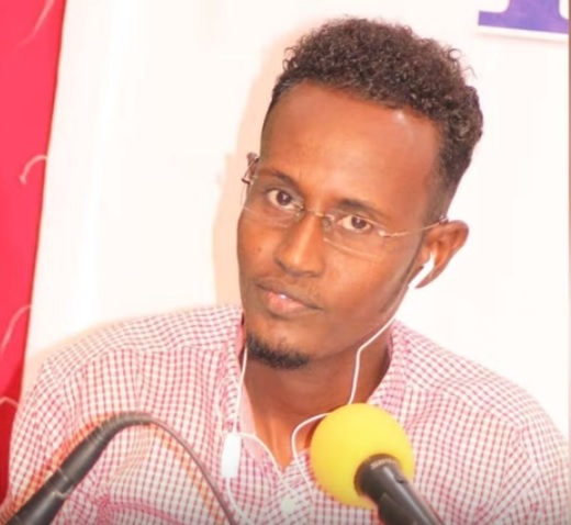 Journalist Hussein Abdulle Mohamed | Photo Radio Kulmiye.