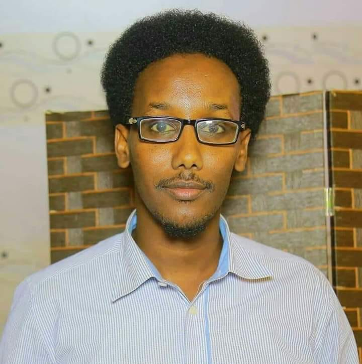 Said Nadaara, Kasmaal-Media editor briefly detained in Galkayo, on 13 Jan, 2020.