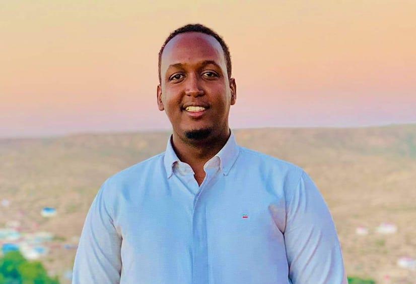 Somali Television Network's news editor, Abdifatah Abdullahi Farah (known as Jiib) was arrested in Garowe on 25 February 2021. (PHOTO/ Courtesy/Jiib).