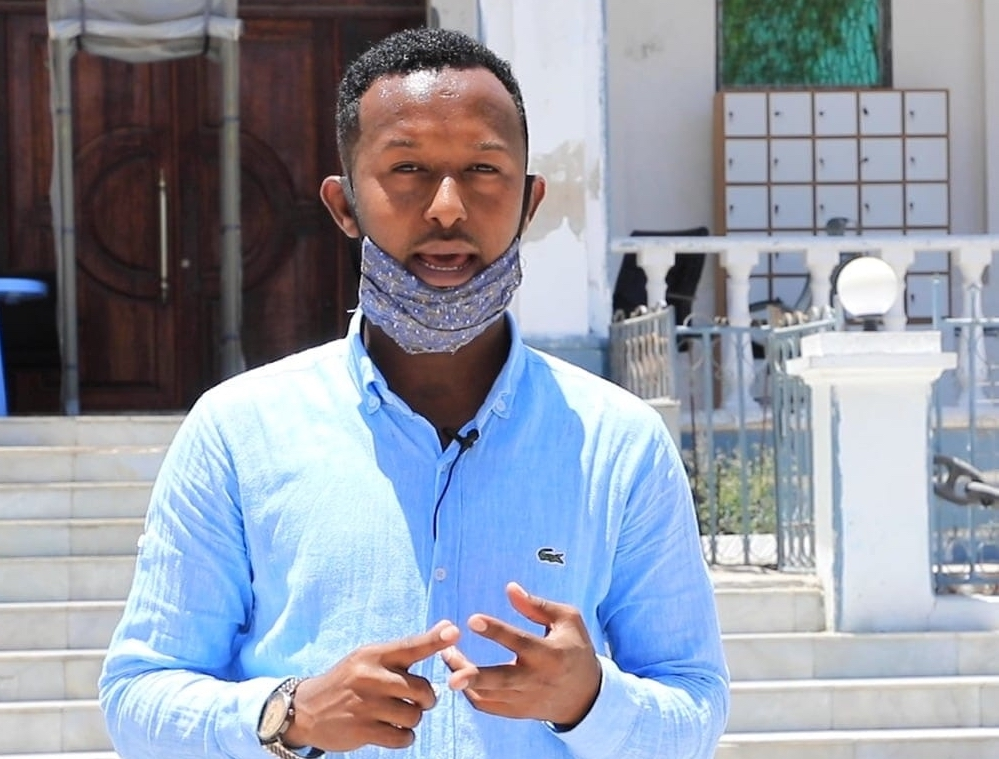 Nation FM radio journalist, Mohamed Yahye Jiinow was detained in Mogadishu on 4 March 2021. (PHOTO/ Courtesy Mohamed Yahye Jinow).