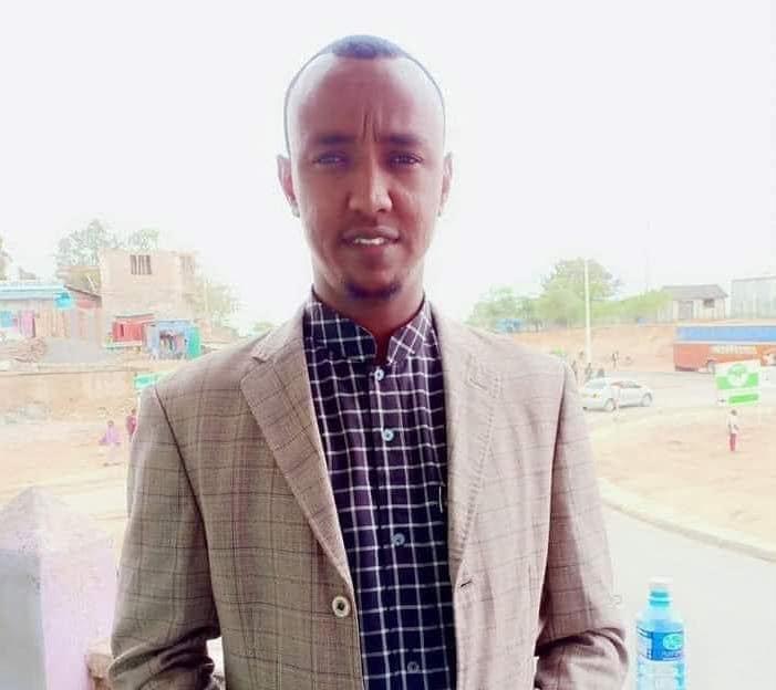 Star Media Network journalist, Mohamud Mohamed Sheikh (Lafagari). | PHOTO SJS/ Courtesy Mohamud Lafagari.